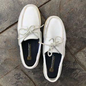 Rockport washable men's tie boat shoe